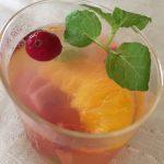 フルーツのジュレ