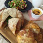 パーティーカンパーニュ/ペッパーチーズパン